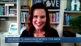 Joe Biden to announce VP pick this week