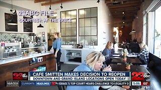 We're Open Kern County: Cafe Smitten back in business