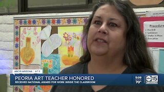 Valley art teacher helps clothe, feed students in need