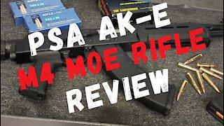 PSA AK-E M4 MOE Rifle Review   PSA Best AK-47 To Date?
