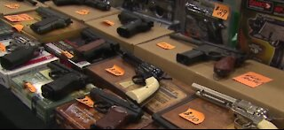 Gun sales hit record high for January 2021