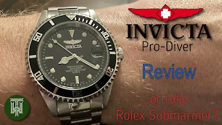 Invicta Pro-Diver 200m Watch - Review & Unboxing (89320B / Seiko PC32A)