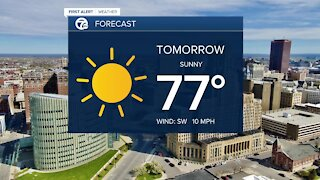 7 First Alert Forecast 5p.m. Update, Monday, May 17