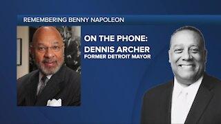 Former Detroit Mayor Dennis Archer speaks on death of Benny Napoleon