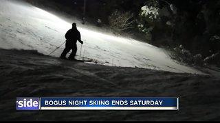 Night skiing at Bogus Basin ends Saturday