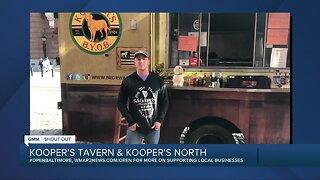 Kooper's Tavern and Kooper's North says We're Open Baltimore!