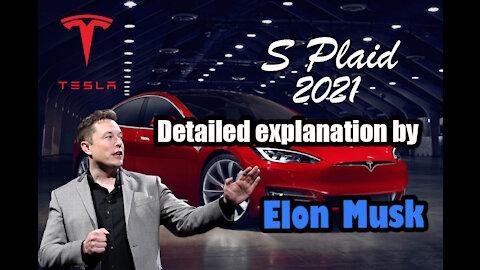 Elon Musk unveils Tesla Model S Plaid, $25k next model and Battery Design Better than Ludicrous Mode