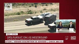 Authorities attempt PIT maneuver in vehicle pursuit in Phoenix