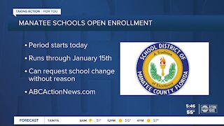 Applications to change schools in Manatee County go live Tuesday