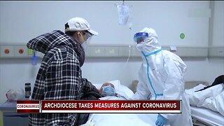 Archdiocese takes measures against coronavirus