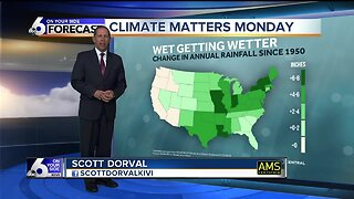 Climate Matters Monday - Wet Getting Wetter