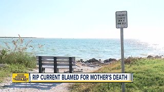 Mothers dies saving 6 kids from rip current