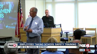Lee County school leaders attend shooter safety training