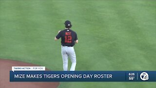 Casey Mize makes Tigers opening day roster