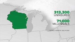 The uninsured in Wisconsin