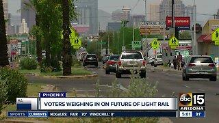 Voters to decide light rail future