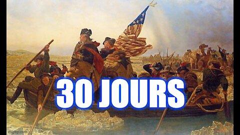 30 jours pour l'Armée