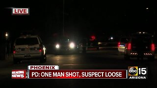 Police investigating after man shot in West Phoenix