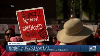 """""""Invest in Ed"""" initiative already facing legal challenge on road to November ballot"""