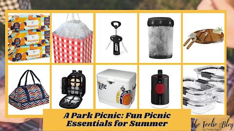 The Teelie Blog | A Park Picnic: Fun Picnic Essentials for Summer | Teelie Turner
