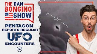 Pentagon Reports Regular UFO Encounters