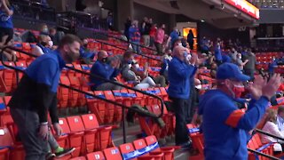 Boise State moves into first place after a hard-fought win against Utah State
