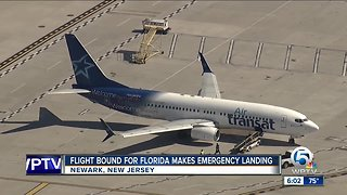 Flight bound for Florida makes emergency landing in New Jersey