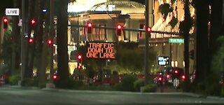 Construction on Las Vegas Strip