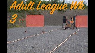 Adult League Week 3: 2 runs