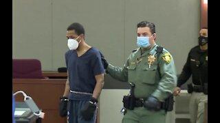 Las Vegas man accused of killing 2-year-old Amari Nicholson pleads not guilty