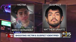 Tempe police identify suspect in deadly Monday night shooting