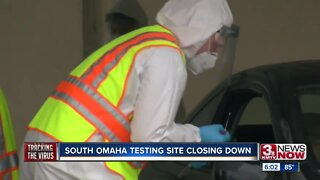 South Omaha coroanvirus testing site closing down