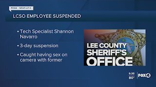 Lee County Sheriff's Office employee caught having sex on job