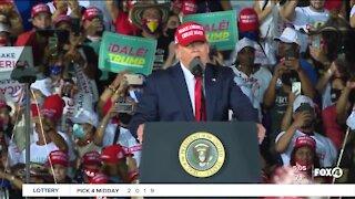 President Trump hosts final Florida rally