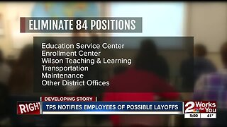 TPS notifies employees of possible layoffs
