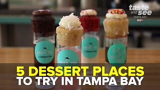 Great places to get delicious dessert in Tampa Bay   Taste and See Tampa Bay