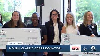 Honda Classic Cares donates to PB County School District 3/26