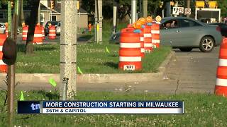 New construction project hits West Capitol Drive