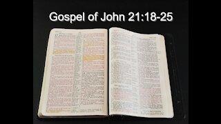 Gospel of John 21:18-25