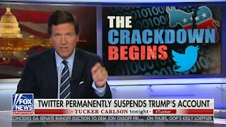 Tucker Carlson's Opening About Tech Crackdown Is Absolutely Right, But Incredibly Terrifying