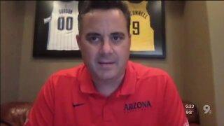 Arizona Basketball holds its season ending news conference