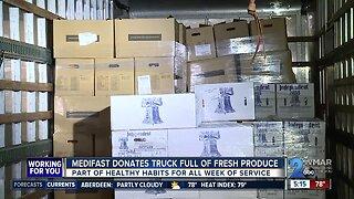 Medifast donates fresh produce to Maryland Food Bank