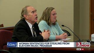 Woman Sentenced for Stealing From Elkhorn Music Program