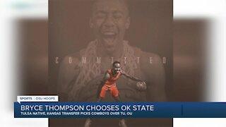 Tulsa native Bryce Thompson transferring from Kansas to OSU