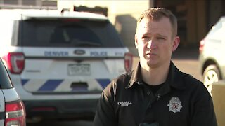 Denver Police Officer Tyler Carroll honored for heroic actions to save man's life