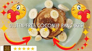 Gluten Free Coconut Pancakes Recipe