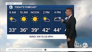 Metro Detroit Forecast: Another freeze warning tonight as the cold stretch continues