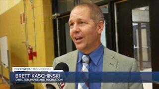 Parks and Recreation Director Brett Kaschinski