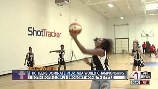 2 KC teams celebrate Jr. NBA World Championships