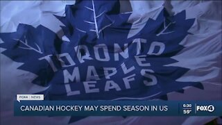 Canadian health authorities may not allow NHL teams